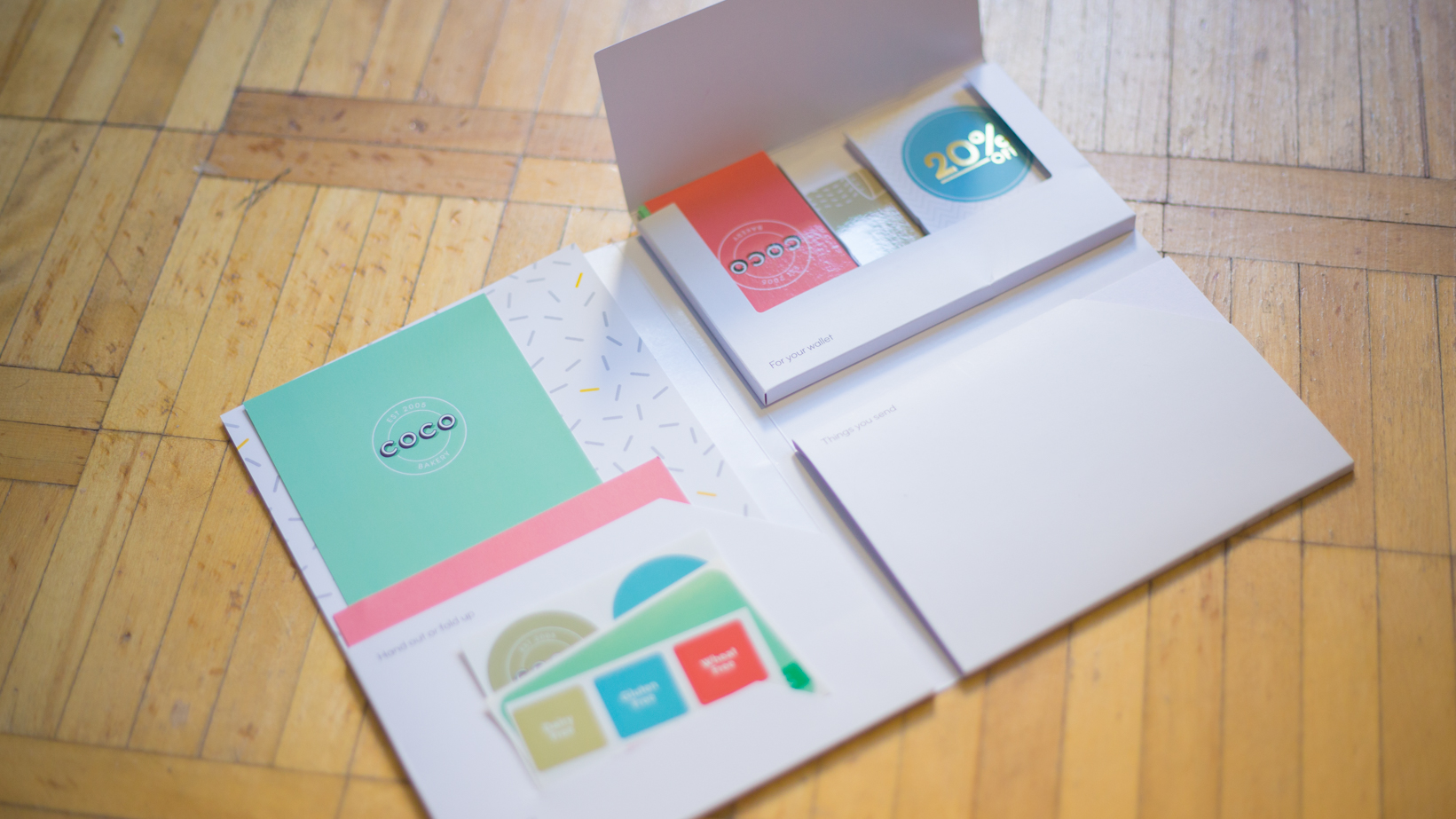 Moo Sample Package and Business Cards